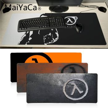 Maiyaca office gadgets half life game logo Rubber Mouse Durable Desktop Mousepad Hot Selling Decorative desktop mouse mat gaming 1