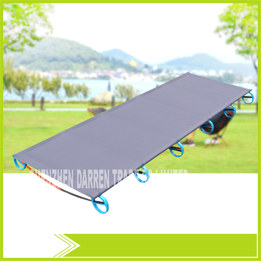 New SDB-1 Rugged Comfortable Ultra-Light Portable Aluminum Alloy Camping Outdoor Camp Folding Tent Bed Break Lunch Bed Camping ultralight aluminium alloy camping mats folding bed portable hiking bbq bed outdoor new brand p20