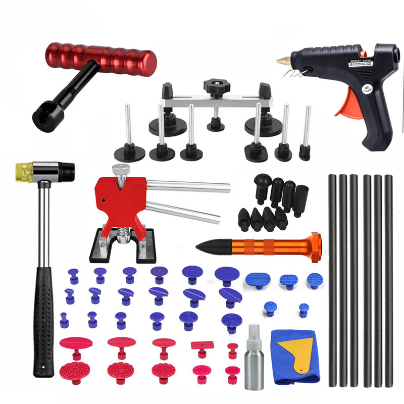 PDR Tools For Repair Glue Tabs Dent Repair Car Dent Remover Repair Tool Kit Removal Of Dents Removal Of Dents  Hand Tools
