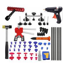 Инструменты для ремонта клейкие вкладки ремонт вмятин удалитель