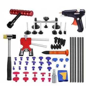 PDR Инструменты для ремонта клея вкладки вмятин ремонт автомобиля инструмент для удаления вмятин набор инструментов для удаления вмятин уда...