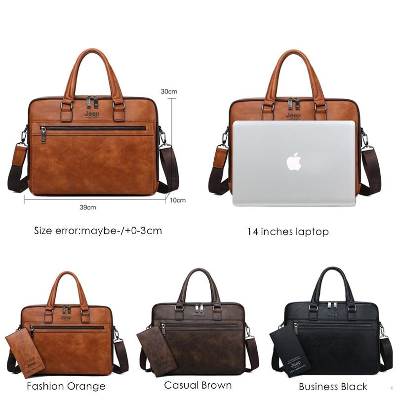 Brand Men Business Briefcase Bags