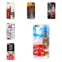 Oedmeb Soft Top Selling London Big Ben Bus For Huawei G8 Honor 5C 5X 6 6X 7 8 9 Y5II Mate 9 P7 P8 P9 P10 P20 Lite Plus 2017(China)
