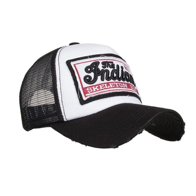 Top Selling Gothic Metal Mulisha Baseball Cap Embroidered Summer Cap Mesh  Hats For Men Women Casual Hats Hip Hop Baseball Caps 4e81a0051eb5