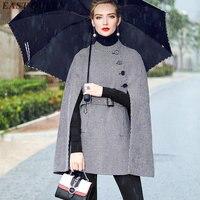 Womens phù hợp với kinh doanh kế đồng phục văn phòng phụ nữ trenchcoat mùa thu 2017 thời trang áo khoác cho phụ nữ DD152 C