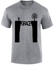 Grace in The Valley Christian Men T-shirt New T Shirts  Tops Tee Unisex Funny High Quality Casual Printing freeshipping