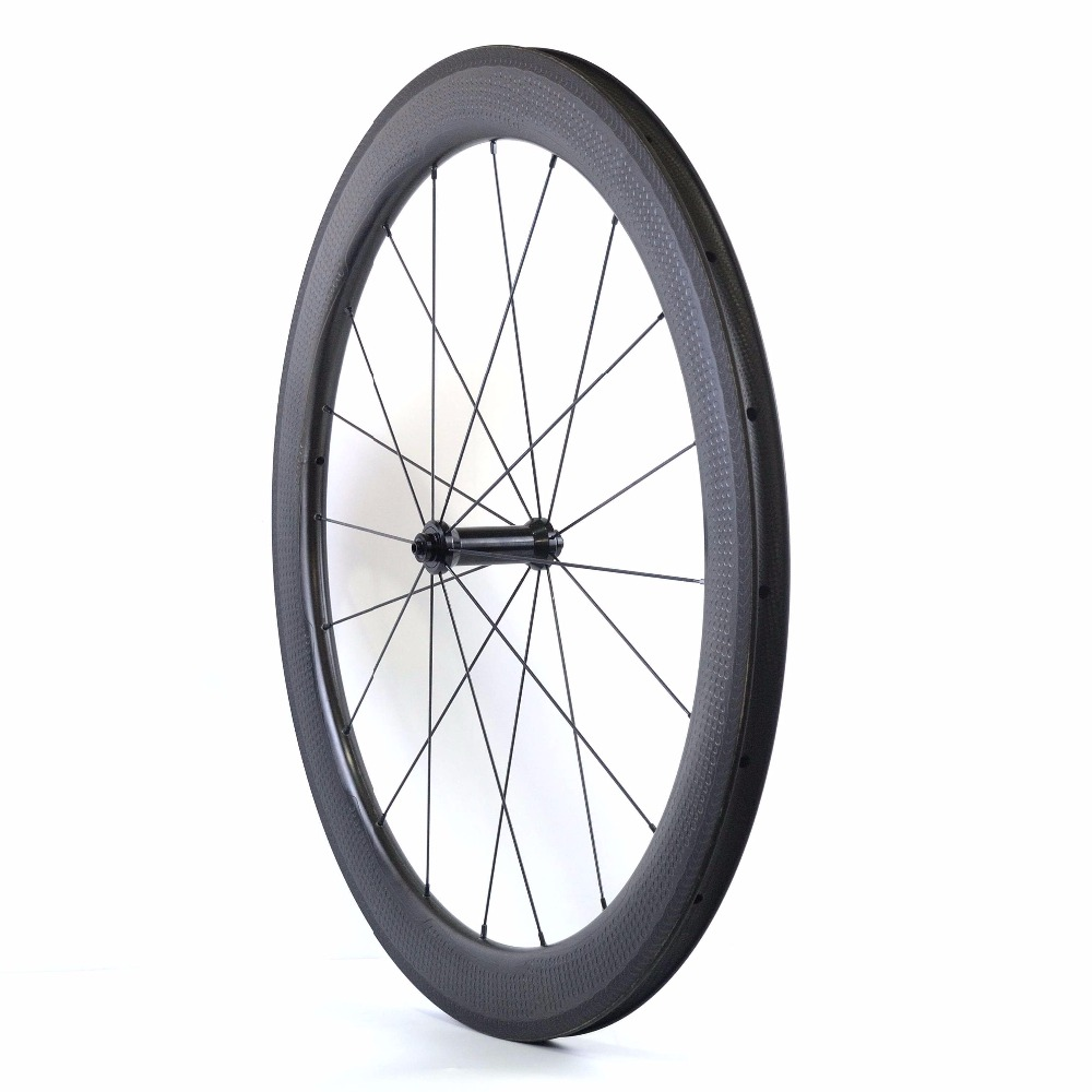 Image 3 - 20%Off Special Brake Surface Dimple Aerodynamic Carbon Wheels 2 Year Warranty 58mm Tubeless Road Bike Carbon Wheeldimple carbon wheelsroad bike carbon wheelsetbike carbon wheels -