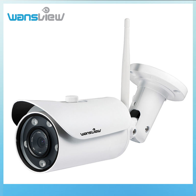 wansview outdoor ip camera 1080p wifi wireless ip security bullet camera with night vision ip66. Black Bedroom Furniture Sets. Home Design Ideas