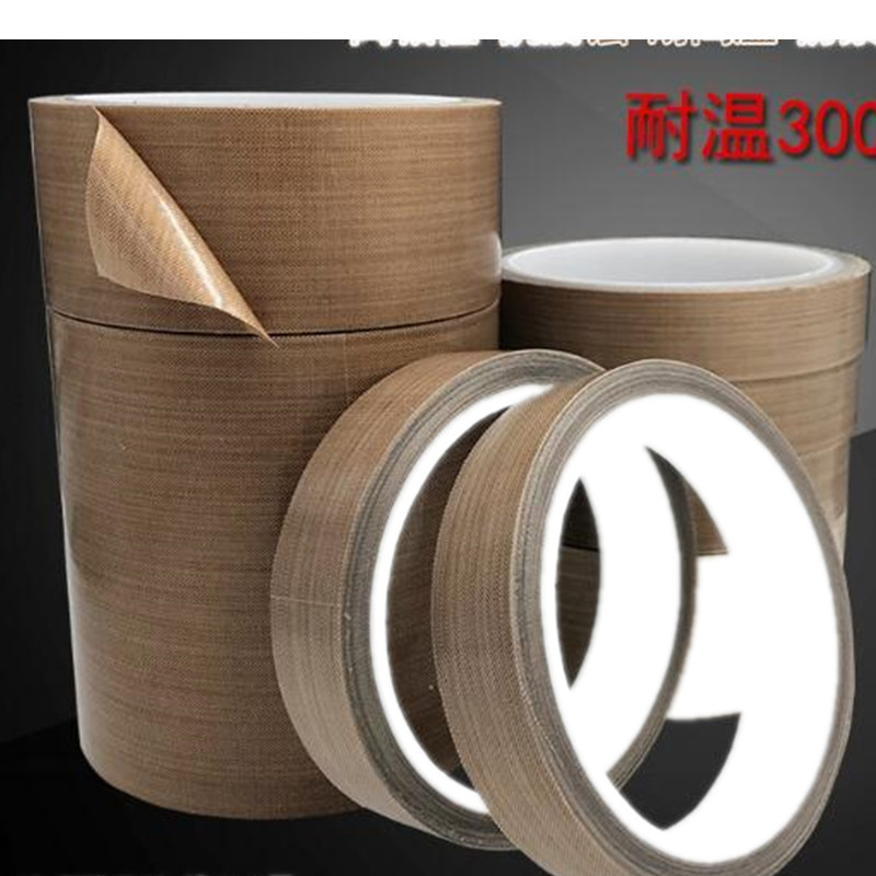 10mmx10m /Teflon high temperature tape sealing machine heat - resistant wear - resistant tape cloth Width 10mm цены