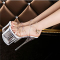 2016 New  Women Pumps Europe and America Fashion  High Heels  Sexy  Women's Shoes (high: 19cm) size (34-39)