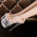 Bombas 2016 Novas Mulheres Europa e América Moda Sexy de Salto Alto Sapatos femininos (alta: 19 cm) tamanho (34-39)