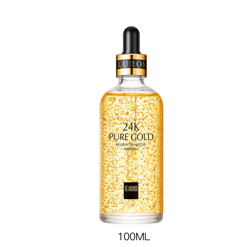 24K Gold Anti Wrinkle Essence Liquid Moisturizing Anti Aging Skin Care SSwell