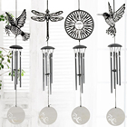 Lovely 4 Tubes Relaxing Windchime Campanula Outdoor Living Yard Garden Decor Wind Chimes Chapel Bells Wall Hanging Home Decor