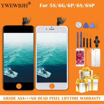 Grade AAA+++ For iPhone 6 6S Plus LCD Display With 3D Touch Screen Digitizer Assembly For iPhone 5S Display No Dead Pixel 10pcs lcd display for iphone 6s 4 7 lcd display touch screen digitizer assembly grade aaa quality 100