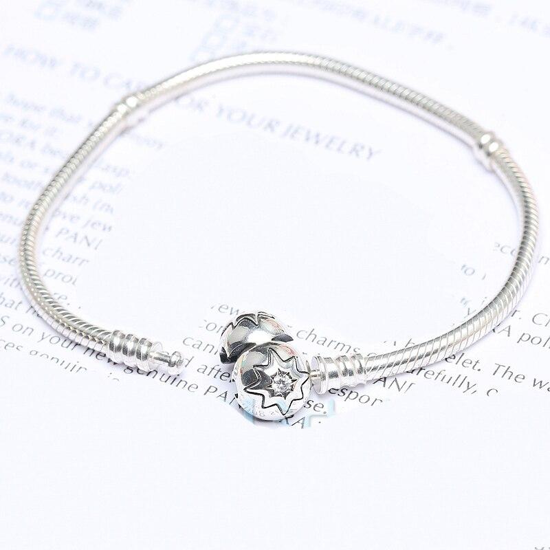 Real 925 Sterling Silver Charm Bracelet Maple Leaf
