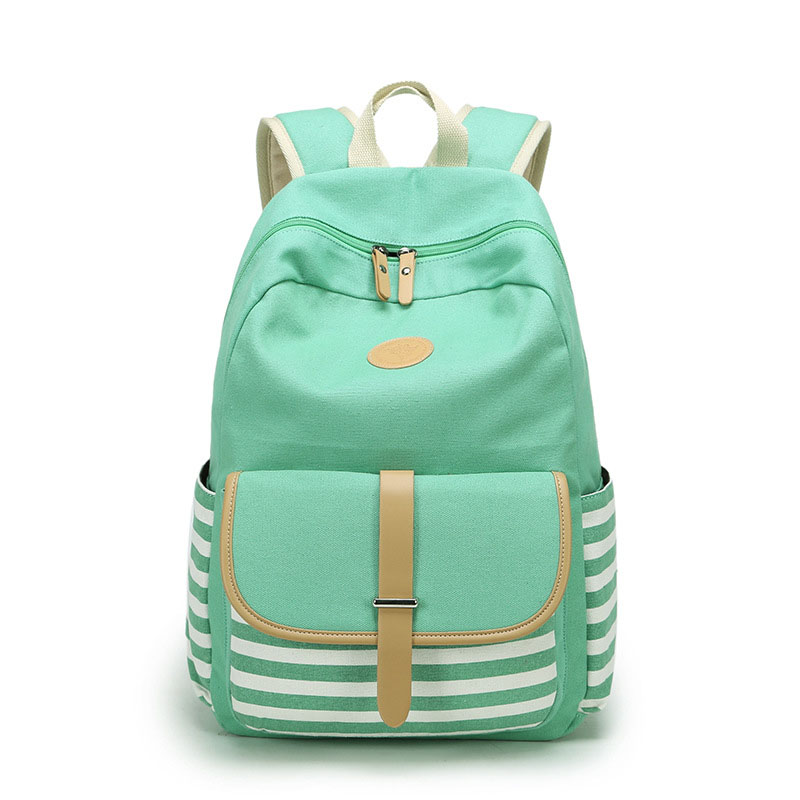 f3c5dddad84f Women Backpacks For Teenage Girls Canvas Bagpack Female Feminine Backpack  Back To School Backbag Laptop Mochila Feminina Bag-in Backpacks from  Luggage ...