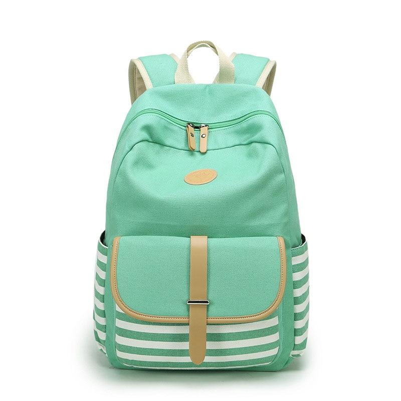 Women Backpacks For Teenage Girls Canvas Bagpack Female Feminine Backpack Back To School Backbag Laptop Mochila Feminina Bag цена 2017