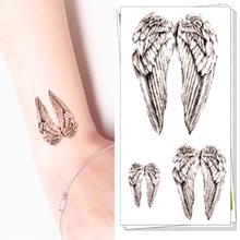 M-theory Temporary Tattoos Body Art, Small Angel Wings , Flash Tatoos Sticker 10.5x6cm Swimsuit Dress Makeup