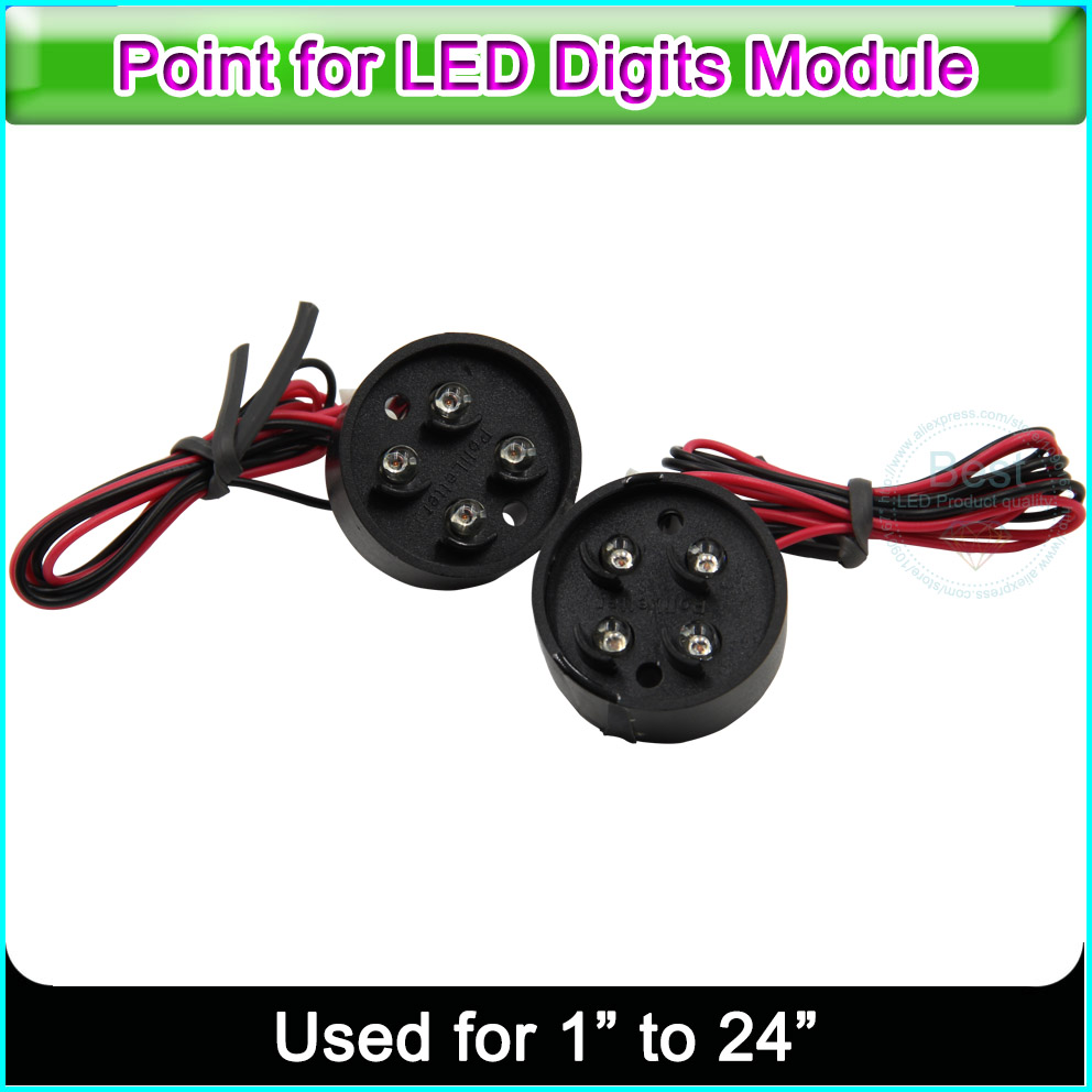 LED Decimal Point For The LED Gas Oil Price 7 Segment Digita Numbers Module