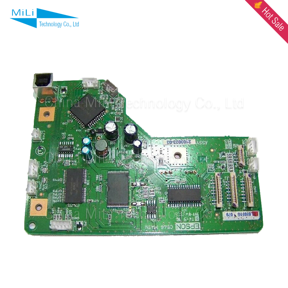 ALZENIT For Epson R200 R220 Original Used Formatter Board  Printer Parts On Sale  alzenit for epson lq 300k 2 300k ii lq 300k ii lq300 ii lq300 2 original used formatter board printer parts on sale