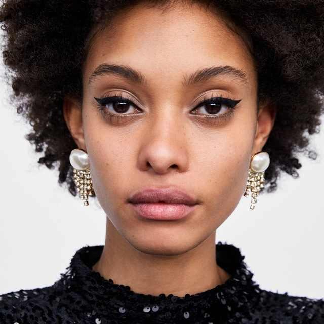 Dvacaman Fashion Handmade ZA Crystal Drop Earrings Women Simulated Pearl Maxi Dangle Earrings Wedding Party Jewelry Bijoux WW20