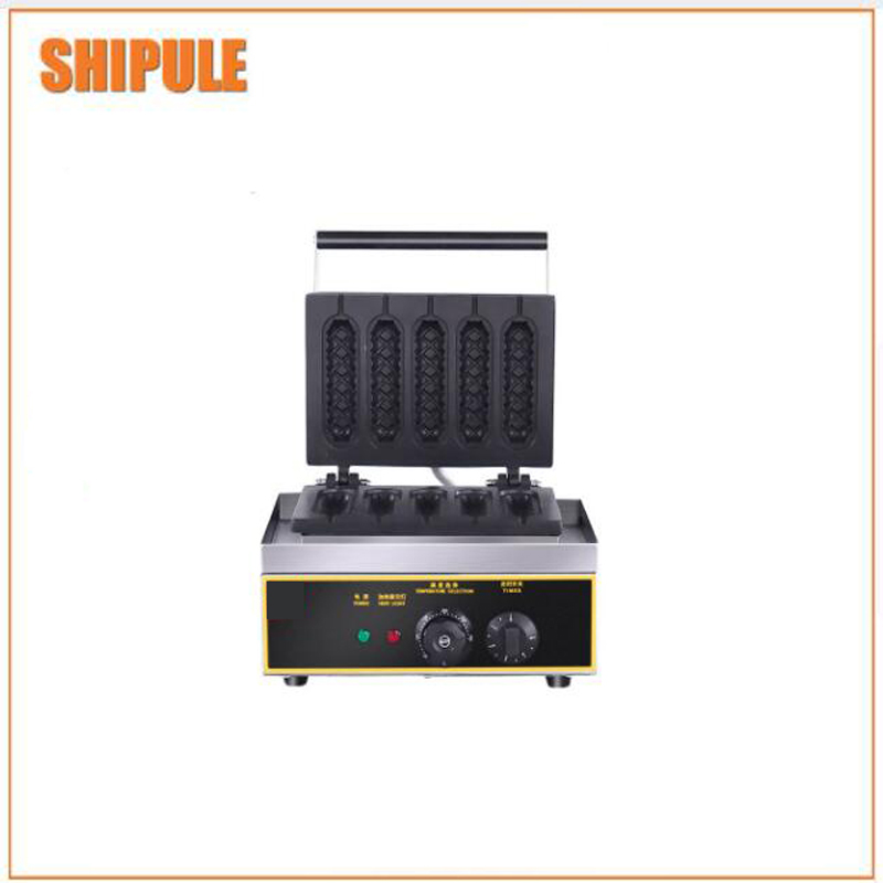 Gold supplier hot dog waffle maker automatic hot dog machine corn hot dog making machine automatic hot