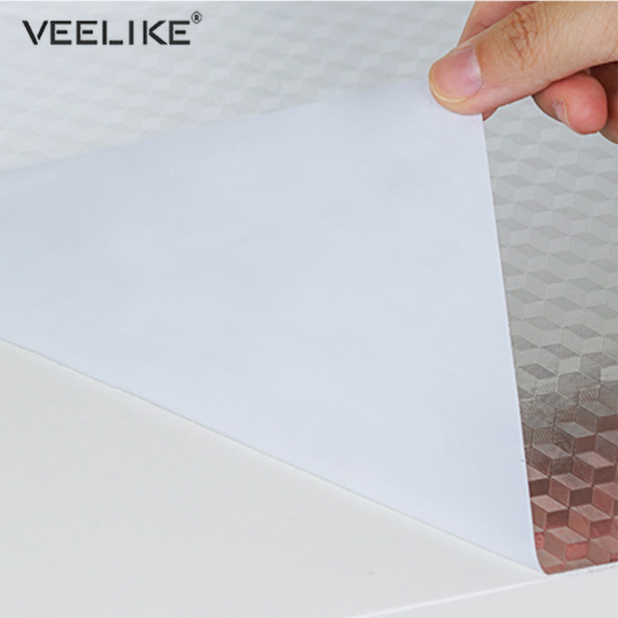 3M Kitchen Self Adhesive Sticker Oil-proof Waterproof Aluminum Wall Decor Paper