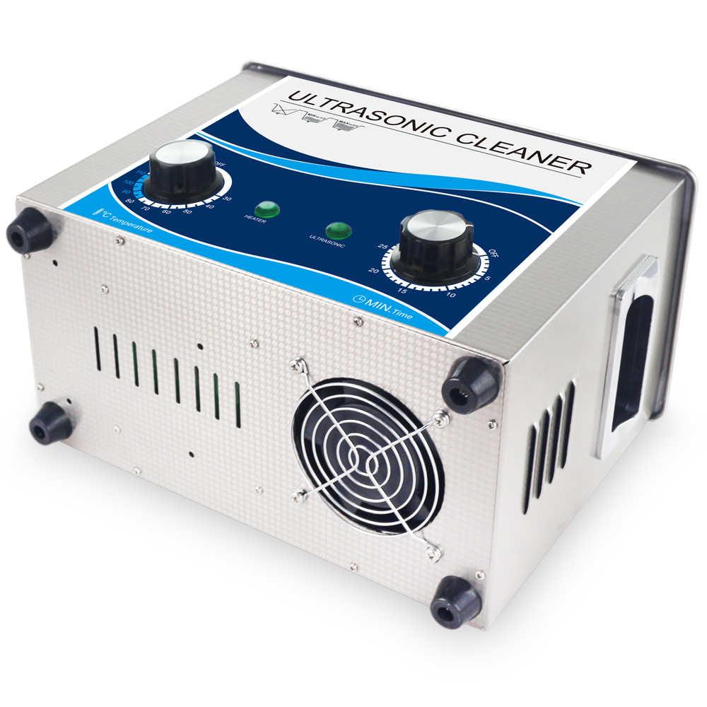 4.5L Ultrasonic Cleaner 180 W Daya Disesuaikan Degas Pemanas Ultrasound Bath Sikat Cleaner Peralatan Makan Perhiasan Jam Tangan Peluru Gigi