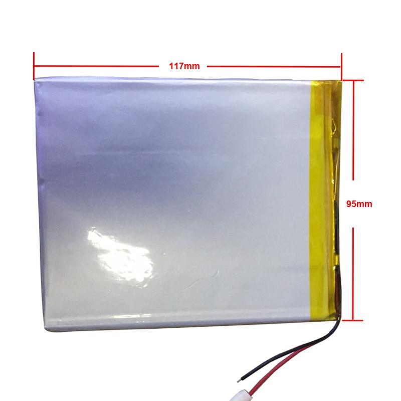 Battery 10.1 Inch For Prestigio Multipad Wize 3031 3G PMT3031 3041 Pmt3041 3g Tablet Battery 5000mah 3.7V Polymer