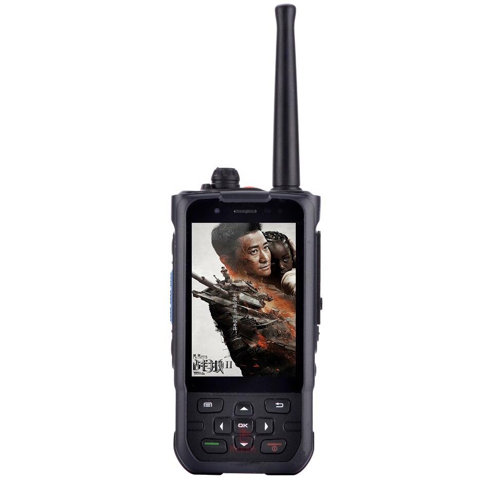 Китай (материк) Водонепроницаемый Прозрачный чехол для телефона с противоударной прочный смартфон Android 7,0 MTK6737 4 ядра 3,5 UHF ptt радио 4 аппарат не привязан к оператору сотовой связи VHF gps F22 K1