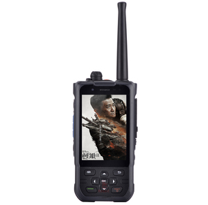 "Image 1 - China  Waterproof Shockproof Phone Rugged Android 7.0 Smartphone MTK6737 Quad Core 3.5"" UHF PTT Radio 4G LTE VHF GPS F22 K1"