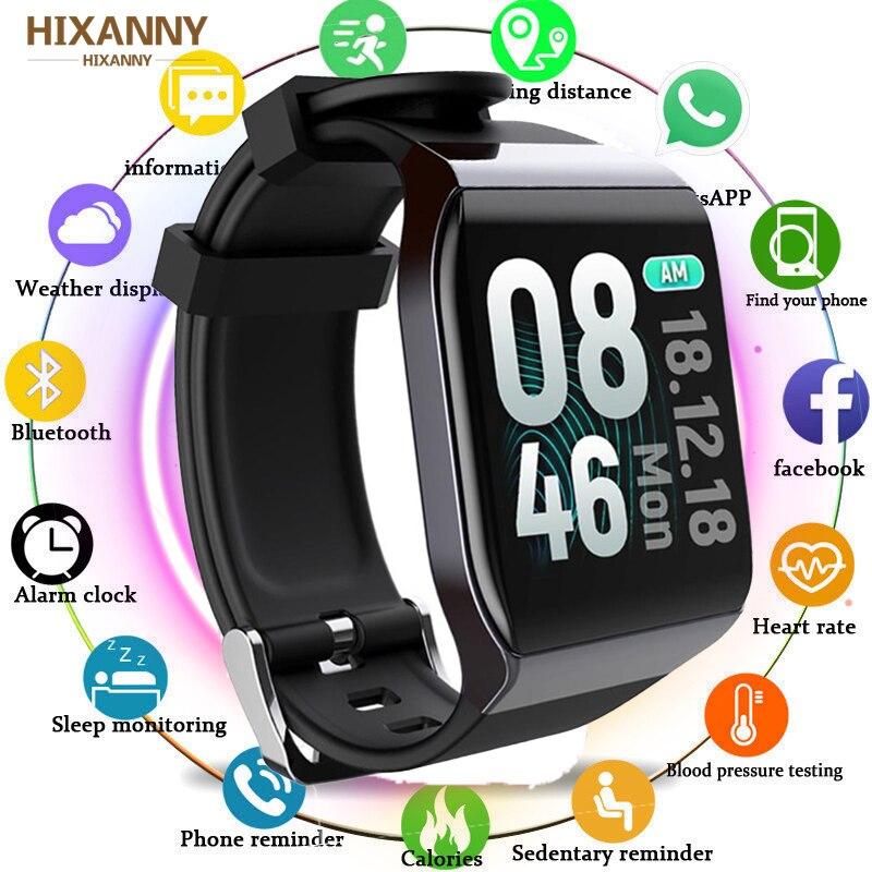 Fashion Fitness Smart Band Waterproof Watch Blood Pressure Monitor Multifunctional Sport Full Touch Screen Bracelet