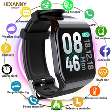 Fashion Fitness Smart Band Waterproof Watch Blood Pressure Monitor Multifunctional Sport Full Touch Screen Bracelet