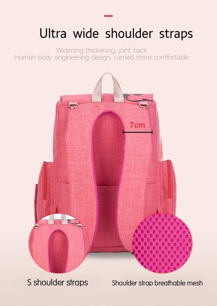 HTB1ChPTaEzrK1RjSspmq6AOdFXaB Disney Mickey Minnie Large Capacity Mummy Maternity Nappy bag Baby Travel Backpack Designer Nursing Bag For Baby Care Diaper Bag