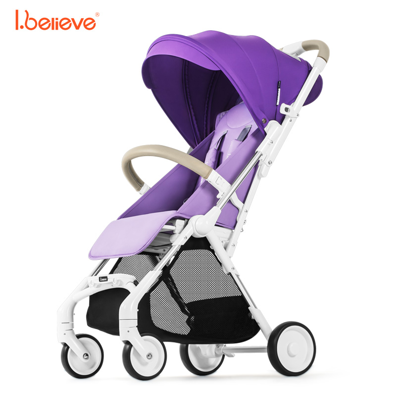 I.believe  I-S007 Portable lightweight 5 point harnes baby strollers Foldable baby pram Airplane suitcase