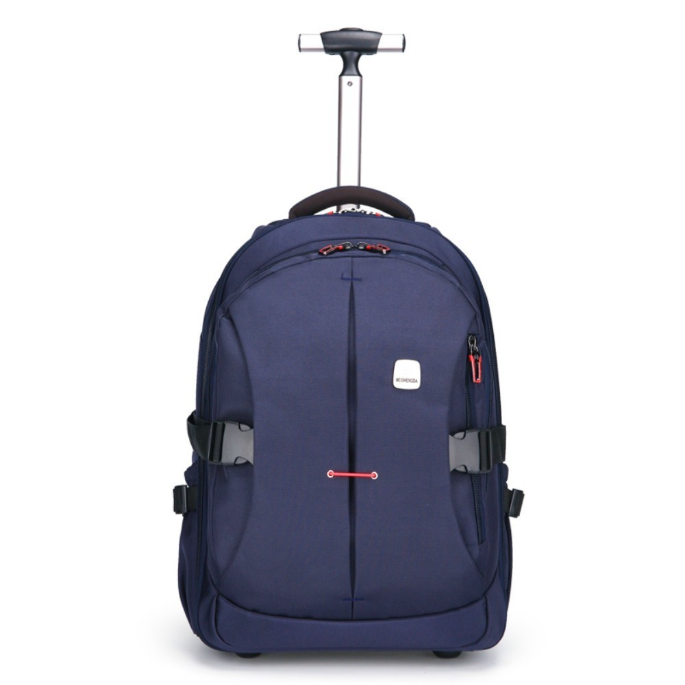 Luggage-Bags Backpacks Suitcase Wheels Travel Trolley Women Oxford On