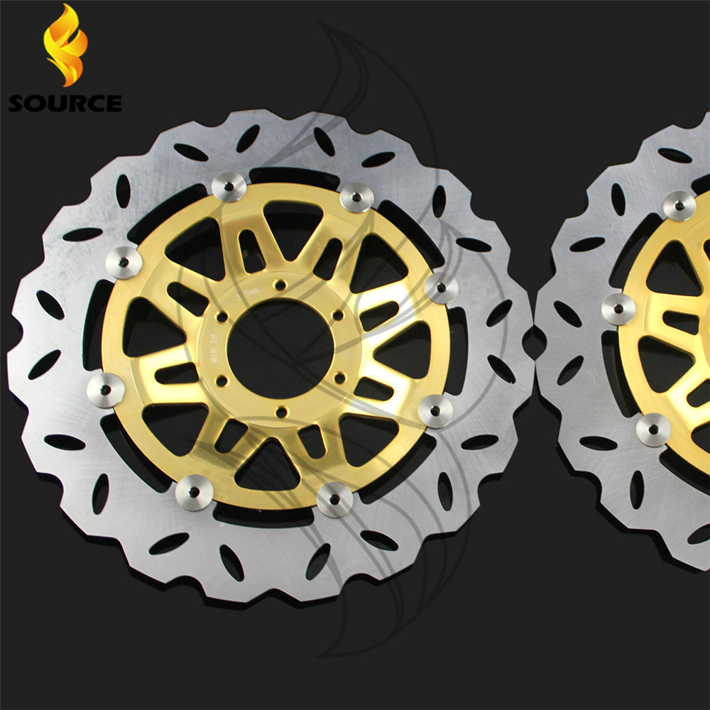 Подробнее о motorcycle Aluminum alloy & Stainless steel outer ring Front Brake Disc Rotor For Honda CB400 1992 1993 1994 1995 1996 1997 1998 steel rear brake disc rotor fit for honda vfr400 nc30 1989 1994 rvf400 rvf400r 1994 1995 1996 nsr250 nsr250rr new
