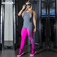 Women's Sport Suit Backless Bodysuit Tight Yoga Gym Running Sport Fitness Set Jogging Sportswear Pants Jumpsuit Tracksuit Sets