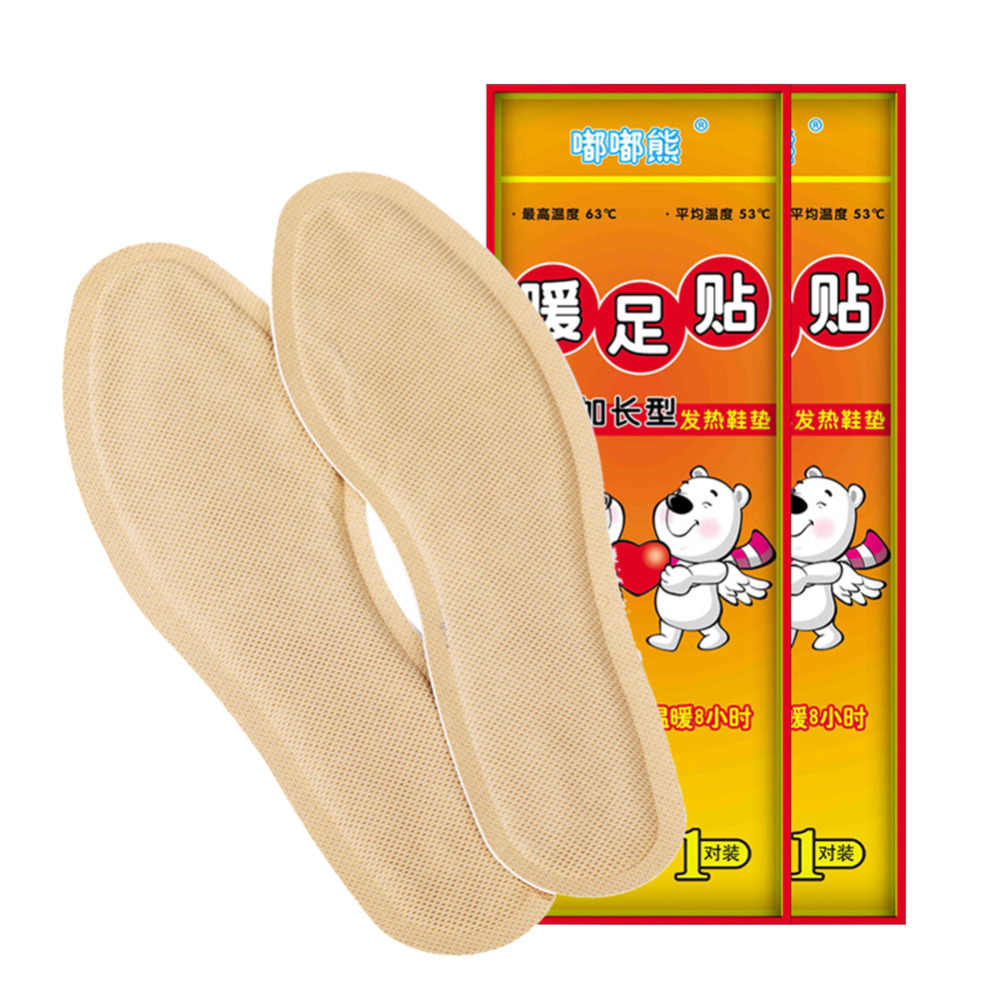 Adhesive Warm Sticker Lasting Heat Patch Body Warmer Stick Pad Heat Winter Hand Foot Menstrual Period Pain Relief Warm Paste Pad