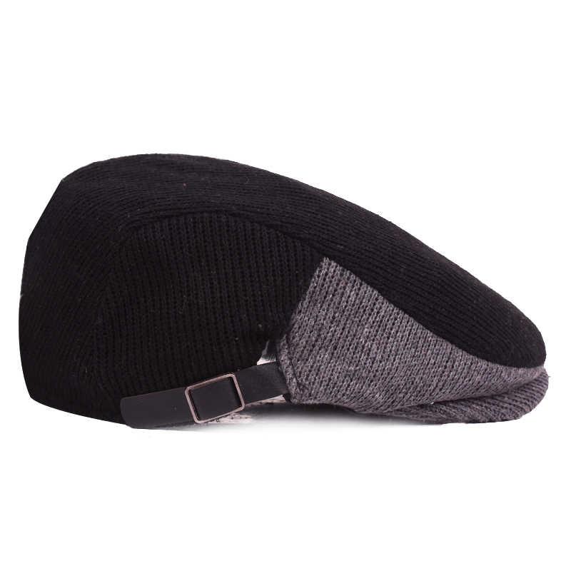 c1bda92576e ... New Fashion Sports Berets Caps For Men Women Casual Autumn Unisex Caps  Four Seasons Cotton Berets ...