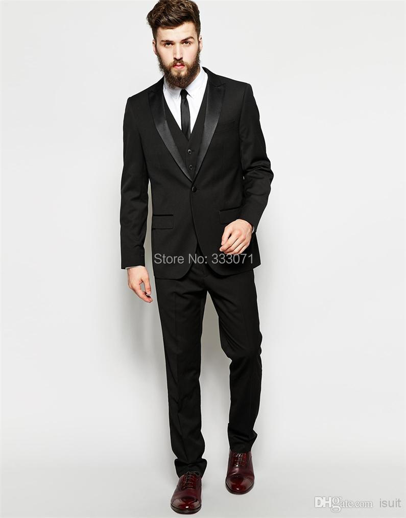 Aliexpress.com : Buy Blazers for Mens Black Suits Custom Made ...