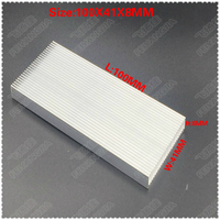 ( Free shipping )10 PCS free mail 100x41x8mm aluminum radiator computer radiator IC tube radiator memory radiator block