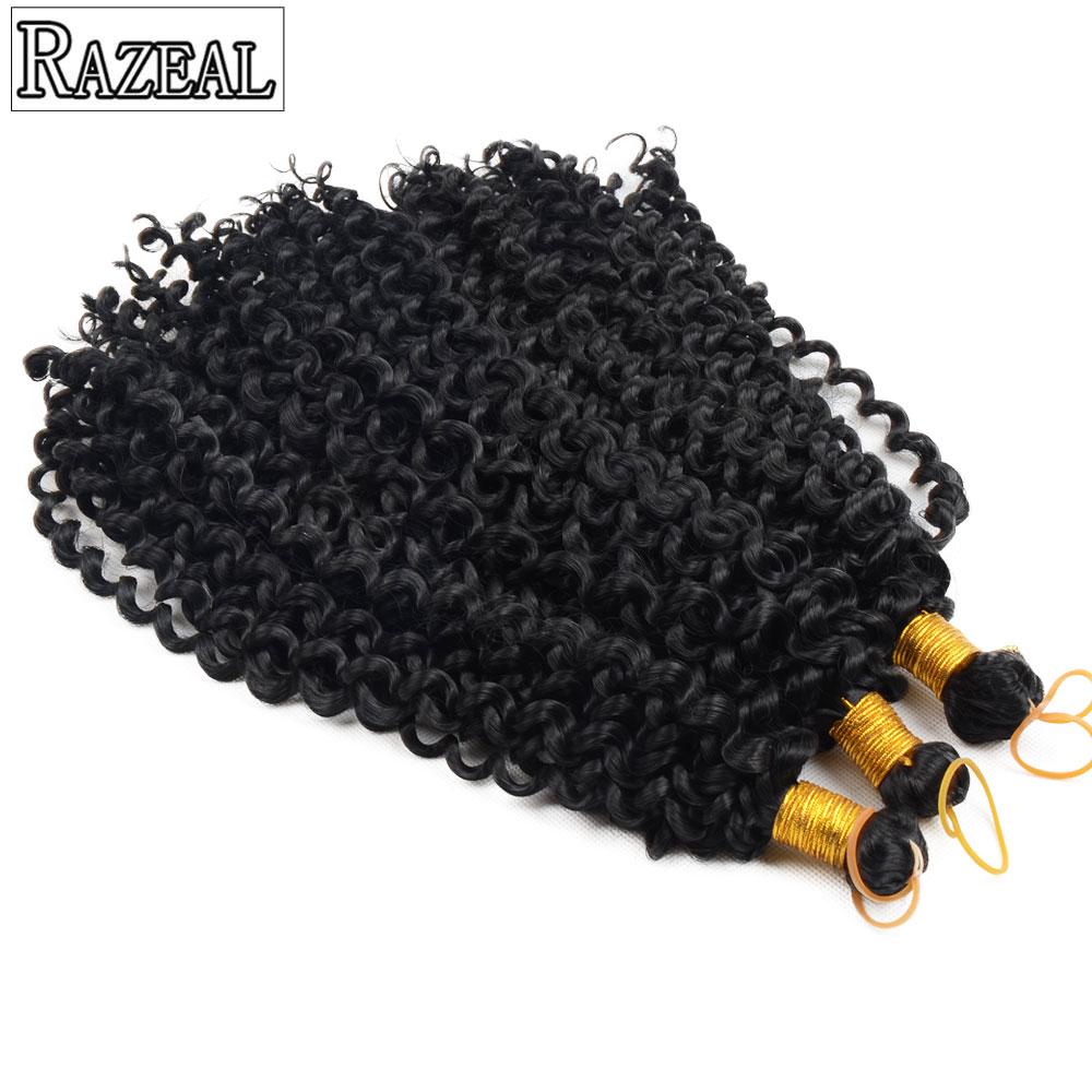 Razeal πλέκω πλεξούδα μαλλιών - Συνθετικά μαλλιά - Φωτογραφία 2