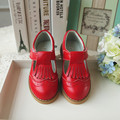 2016 new Genuine Leather Children shoes Kids shoes Girls Princess Shoes sx1423
