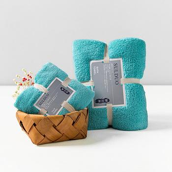 2 sztuk stałe ręczniki pod prysznic magia miękki ręcznik do twarzy zwykły ręcznik zestaw dla dorosłych dzieci 36*80cm + 150*75cm Toalla Serviette De Plage tanie i dobre opinie Przędzy barwionej 5 s-10 s Polar Zestaw ręczników Można prać w pralce Quick-dry Sprężone bath-013 0 4kg Tkane rectangle