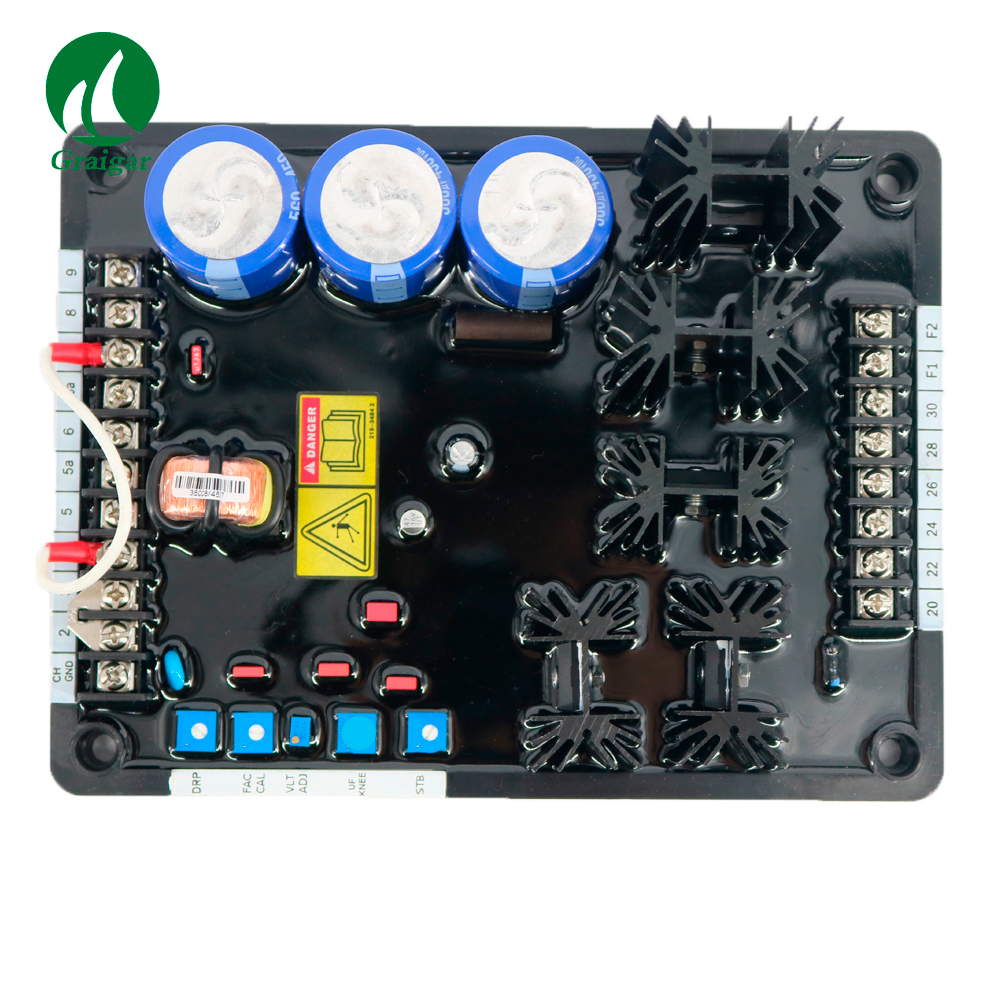 New Generator Automatic Voltage Regulator Avr Avc63 12a1 A649 Torch Jaket Arduin Hijau Muda L