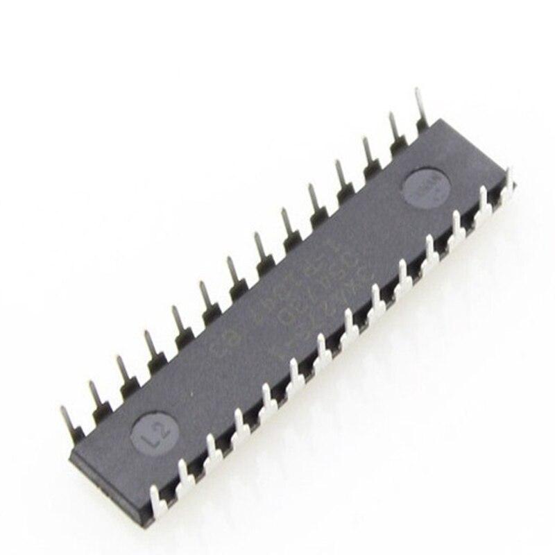 Puce Elecrow Atmega 328 pour Arduino Uno R3 chargeur de démarrage Optiboot utilisé ATmega328 microcontrôleur IC dans les Diodes d'emballage DIP