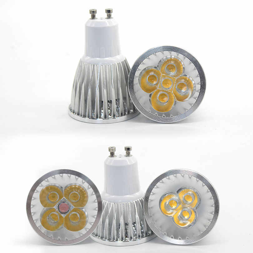 Super bright spotlight LED Lamp LED Spotlight DC12V 9W 12W 15W High quality GU10 MR16 E27 E14 Spot light Lampada LED Bulb 220V