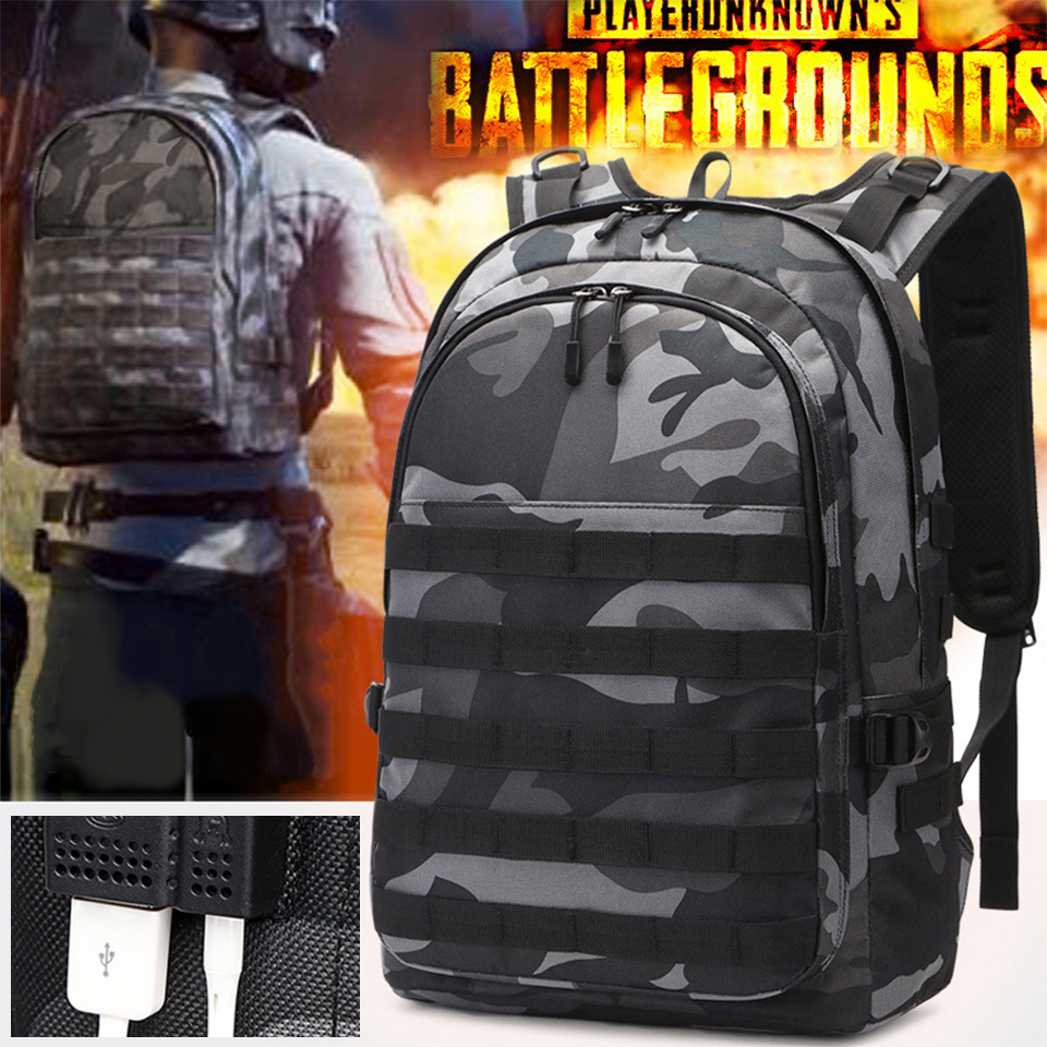Outdoor Backpack Men Laptop 17'' 15.6'' Backpacks Military Tactical Assault Backpacking Female Large Capacity Male PUBG Bag Pack