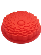 Silicone cake mould sunflower shape DIY soap silicone mold